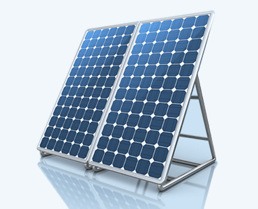 Image of commercial solar panel